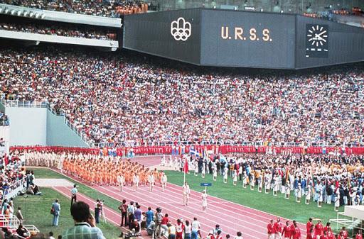 СССР на олимпиаде в Монреале 1976 г.